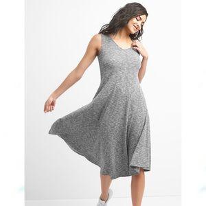 NWT GAP Sleeveless Softspun Ribbed Midi Dress L
